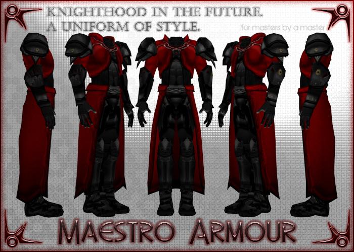 MaestroArmourFront